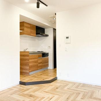 木材のグラデーション