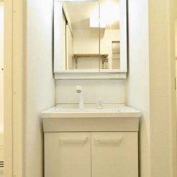 洗面台も使いやすいものに変身