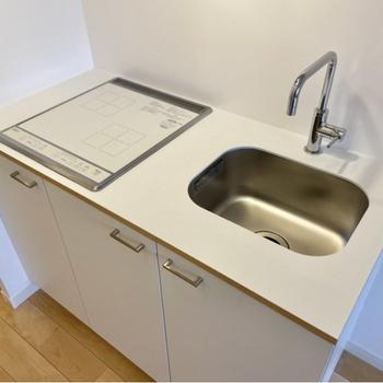 イメージ】キッチンはシンプルながらも使い勝手がいいんです!