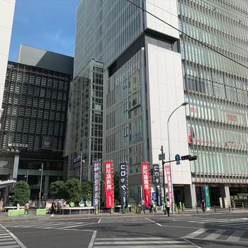 周辺】なんと駅前で買い物もできて歌舞伎もみれるんです〜!