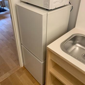 イメージ】2ドアの冷蔵庫もプレゼント中!