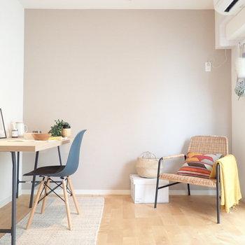 イメージ】優しい色合いのバーチ材がお部屋の印象を爽やかに◎