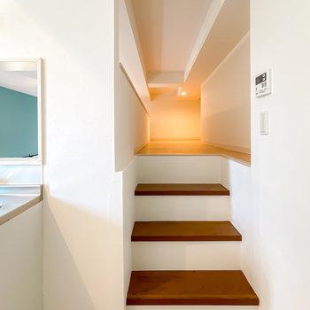 もうひとつの階段の先に、約5.2帖のロフトが広がっているんです!
