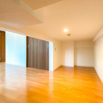 奥行きもあるので、収納や趣味の空間として使えますよ。