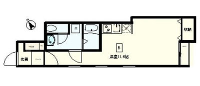 GOLD'S APARTMENTの間取り