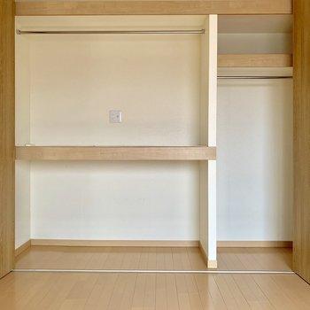 【洋室4.5帖】整理整頓もしっかりできそうですね。※写真は前回募集時のものです。