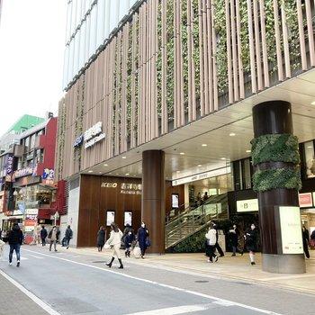 こちらは吉祥寺駅周辺です。