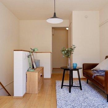 【2F洋室】ソファベッドを置くのもいいですね。