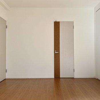 寝室にぴったりな広さです。