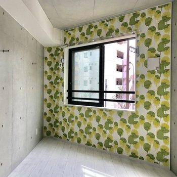 なんだかボタニカルな雰囲気ですね。※写真は3階の同間取り別部屋のものです