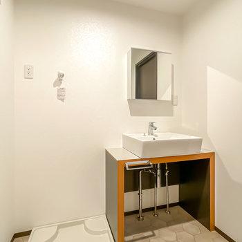 洗面台がとにかく素敵なんです……!