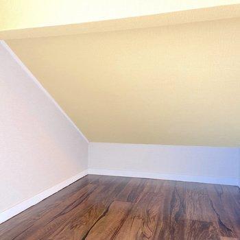 お部屋を広く使うためにロフトをうまく活用したいですね。