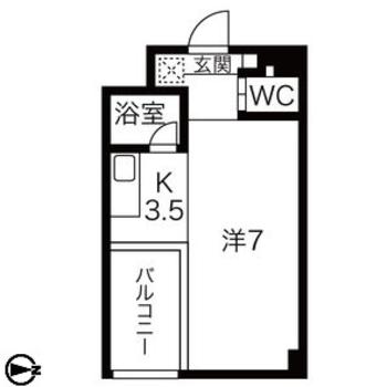 合わせて10.5帖のコンパクトなお部屋ですが、工夫次第で開放的になりますよ。