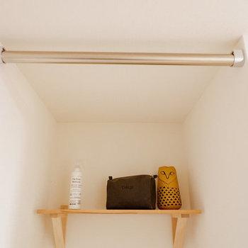 【イメージ】居室部分に置くので気になる方も多いハズ!カーテンがつけれるので隠せますよ