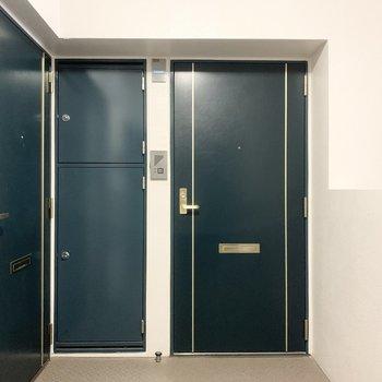 共有廊下部分もきちんと整備されています。