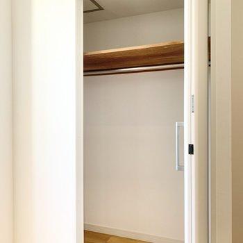 扉より幅があり大容量です!