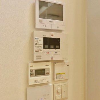 モニターホンにホームセキュリティ、お風呂のリモコン……!快適すぎる◎