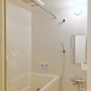浴室乾燥機もついています。たっぷり干せそうです!