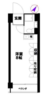 パーフェクトルームの間取り図