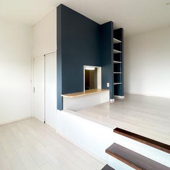スキップフロアが楽しい、海外のアパルトマンのようなデザイナーズのお部屋!