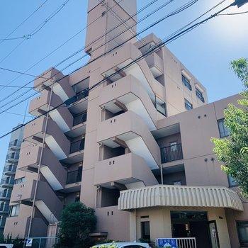 6階建て2階のお部屋です。