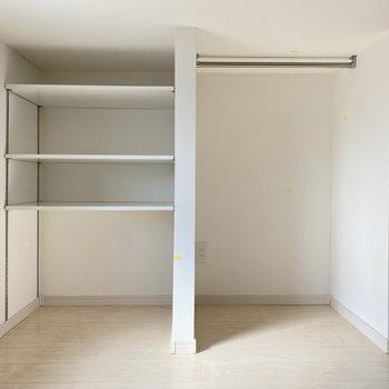 こういう棚が使いやすくてありがたいんだよなあ。