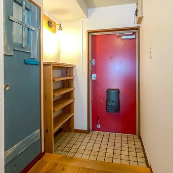 玄関も幅が広く、入ったときに開放感を感じられるように。