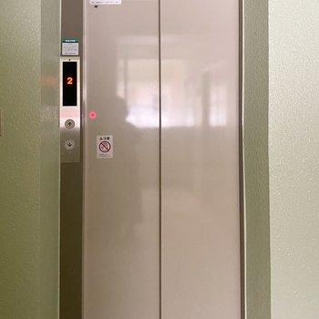 エレベーターがあるので引っ越しの際も安心です◯