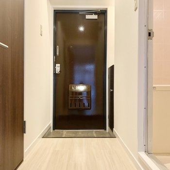 ちょうどよい広さの玄関です。