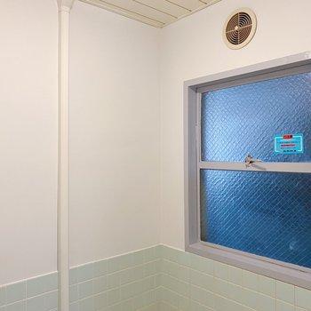 窓があるので換気もできて、湿気を心配する必要もなさそうです。