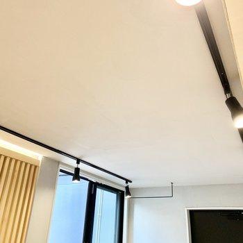 スポットライトがお部屋を優しく照らしてくれます。※写真は4階の同間取り別部屋のものです