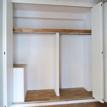 【イメージ】居室部分の収納は容量たっぷり。