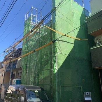 (仮称)荒川区西日暮里四丁目新築計画