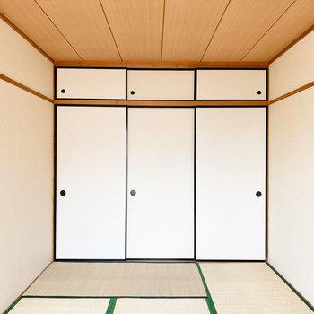 【和6】狭すぎないので、寝室にいいかも。