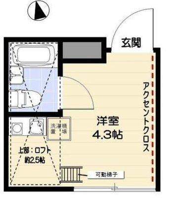 R-STYLE竹ノ塚 2ndの間取り