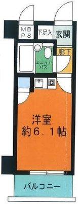 ライオンズマンション東長崎第3の間取り