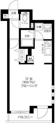 FIRST HOUSE KOIWAの間取り