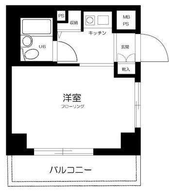 ライオンズマンション横浜第三の間取り