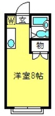 エステートピア松島Ⅱの間取り