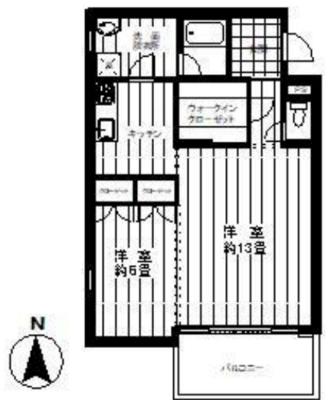 プンゲンスガーデン新高円寺の間取り