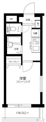 Luxs 上板橋の間取り