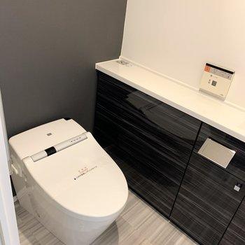 温水洗浄付きのトイレです。※写真は前回募集時のものです