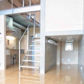なんて素敵な立体構造!※写真は3階の同間取り別部屋のものです