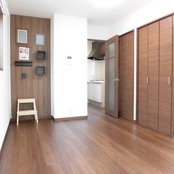 他の生活空間も広いんです!※写真は2階の同間取り別部屋のものです