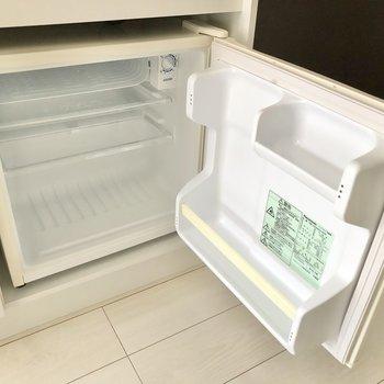 さらにミニ冷蔵庫も備わっているんです。