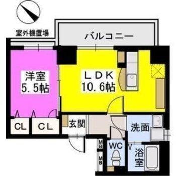 対面式キッチンのあるお部屋です!