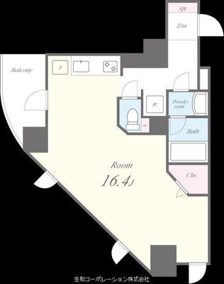 N Residence 新今宮の間取り