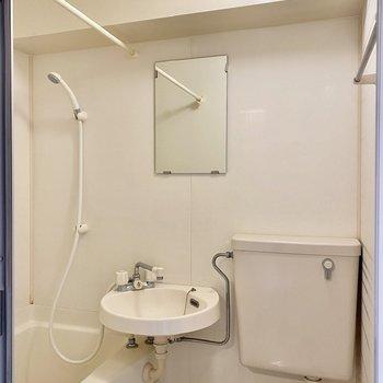 洗面台を使う際は予め換気をしておくと良いかも。