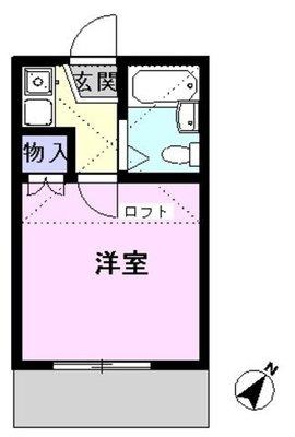 MARIO江戸川台の間取り