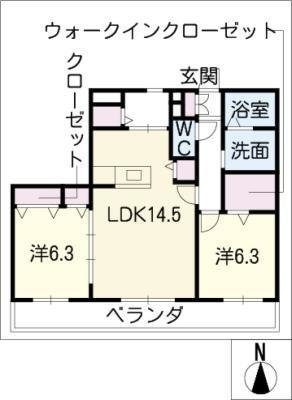 MastTown南の杜の間取り